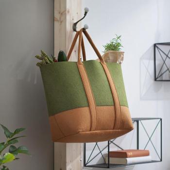 Filz Tasche Grün